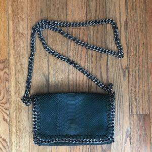 Italian Crossbody Bag with Chain